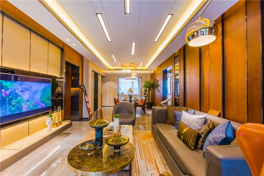108平客厅