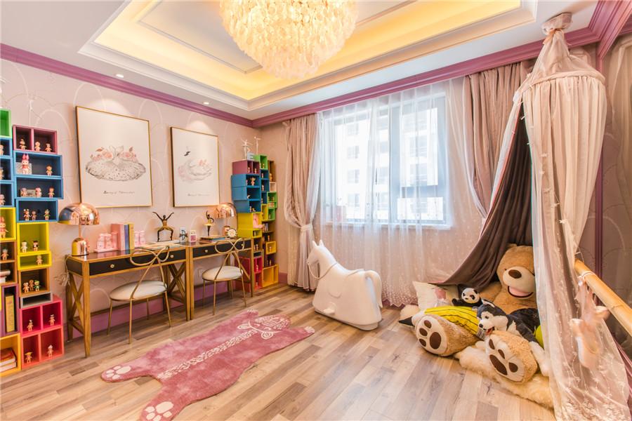 三叠院130平儿童房