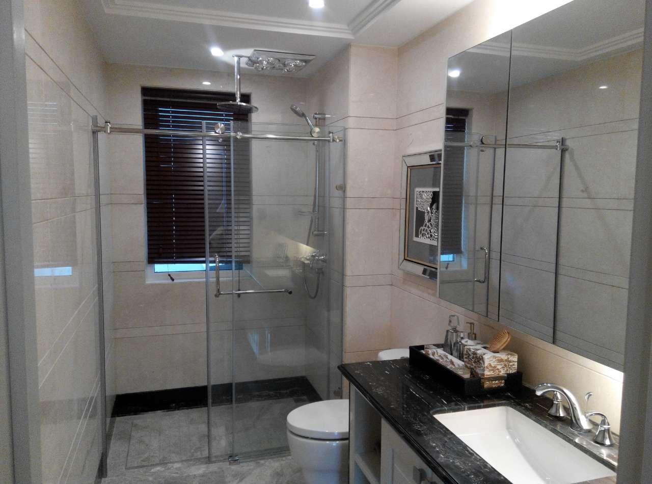 123平三室两厅两卫主卧卫生间