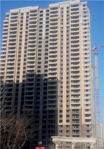 华府丹郡在建楼栋B6#共计33层