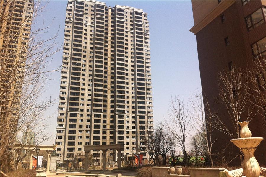华府丹郡在建楼栋B7#共计33层