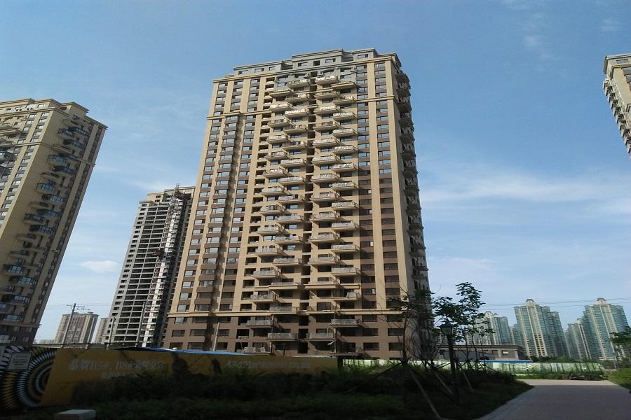 华府丹郡在建楼栋B9#共计32层