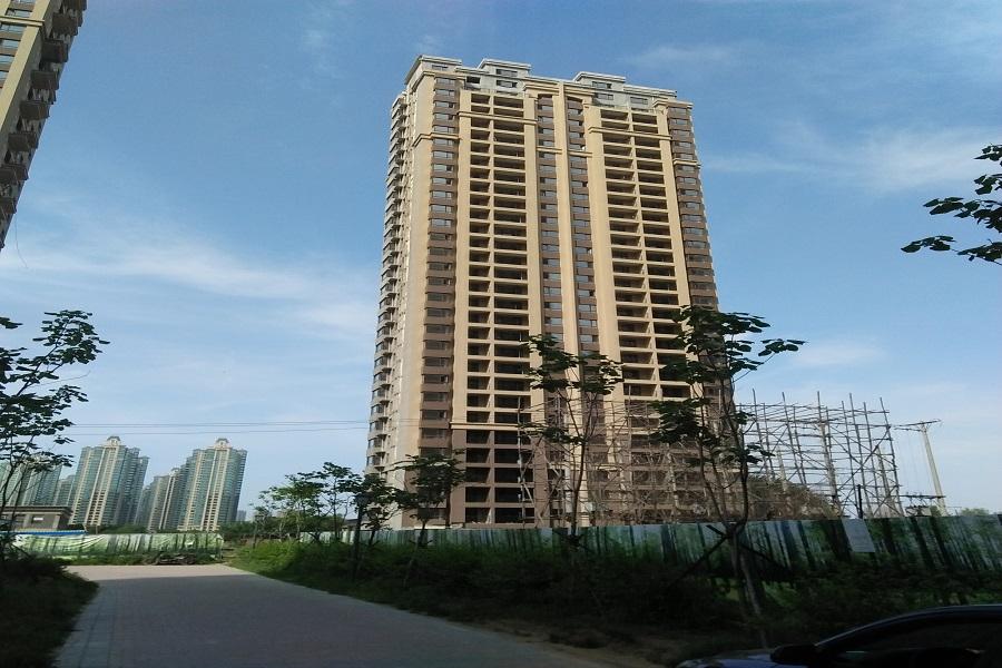 华府丹郡在建楼栋B10#共计32层