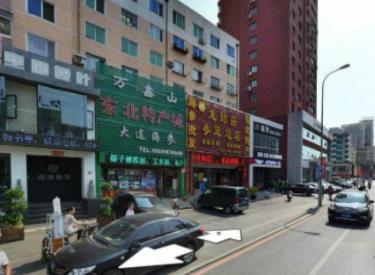 (出租)兴华街新玛特340平二层门脸大门前有车位