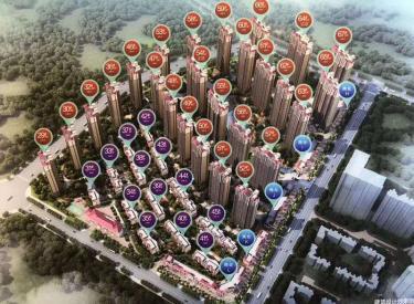 恒大中央广场 3室 2厅 2卫 132㎡