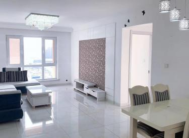 长白南奥园国际新城学府 两室南明厅 精装修带品牌家具