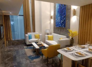 奥体中心 云尚天成 复式LOFT公寓 以租养贷 双地铁河景房