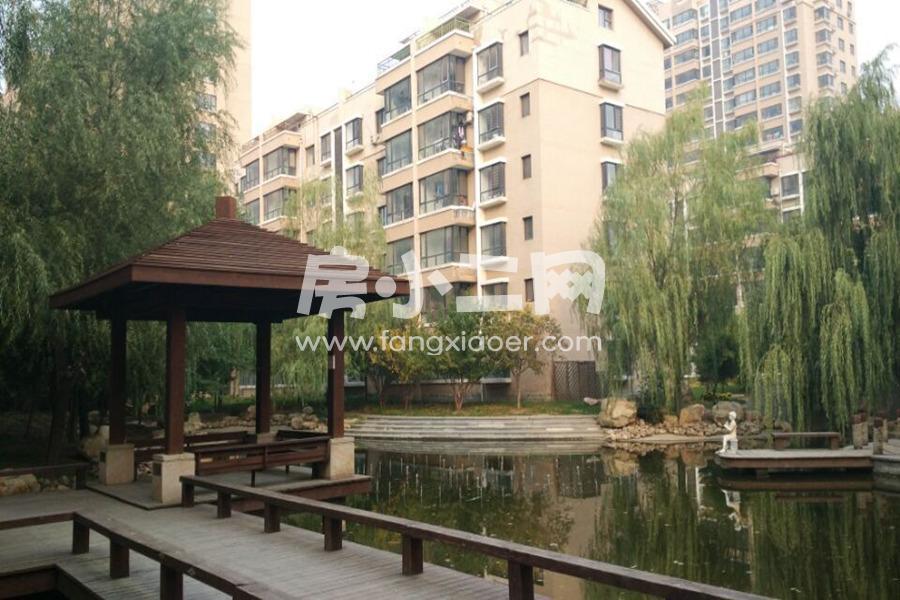 步阳·江南甲第一期景观——凉亭、水系