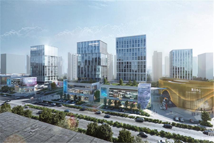 万科首府未来城园区图片