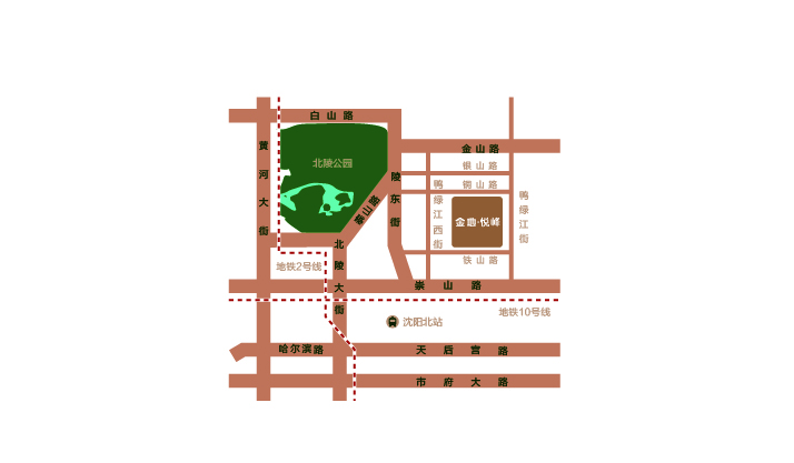 金地悦峰项目区位图
