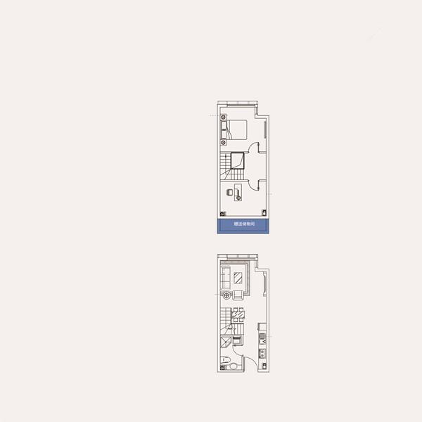 34㎡2室2厅1卫