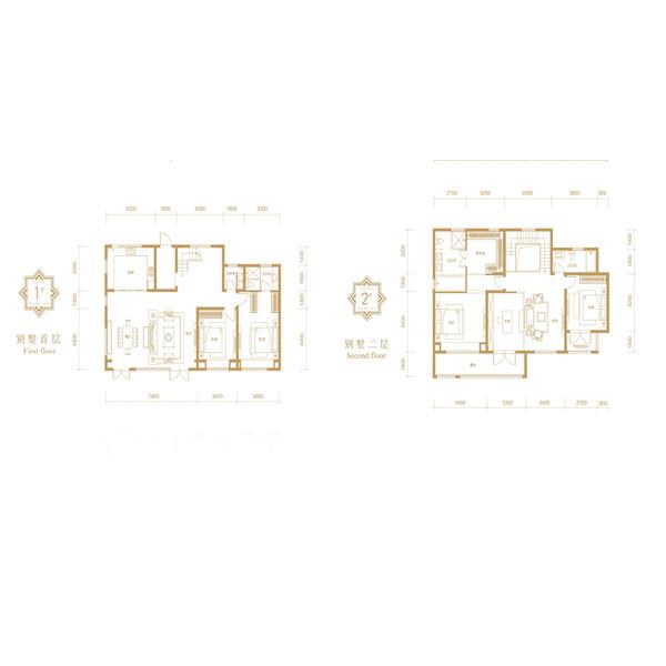 融创·融公馆4室2厅3卫建筑面积约为249㎡