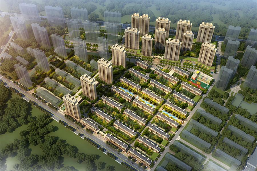 碧桂园·大城印象鸟瞰图