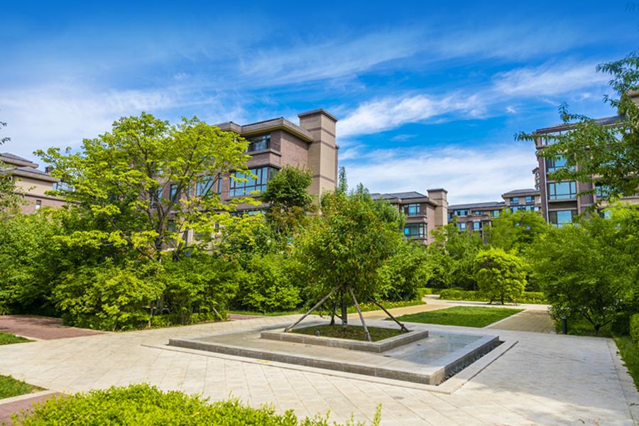 五彩阳光城园区实景图