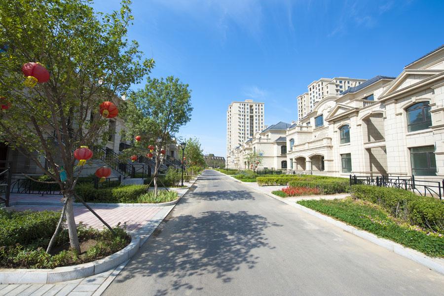 富禹·依云温泉小镇园区道路